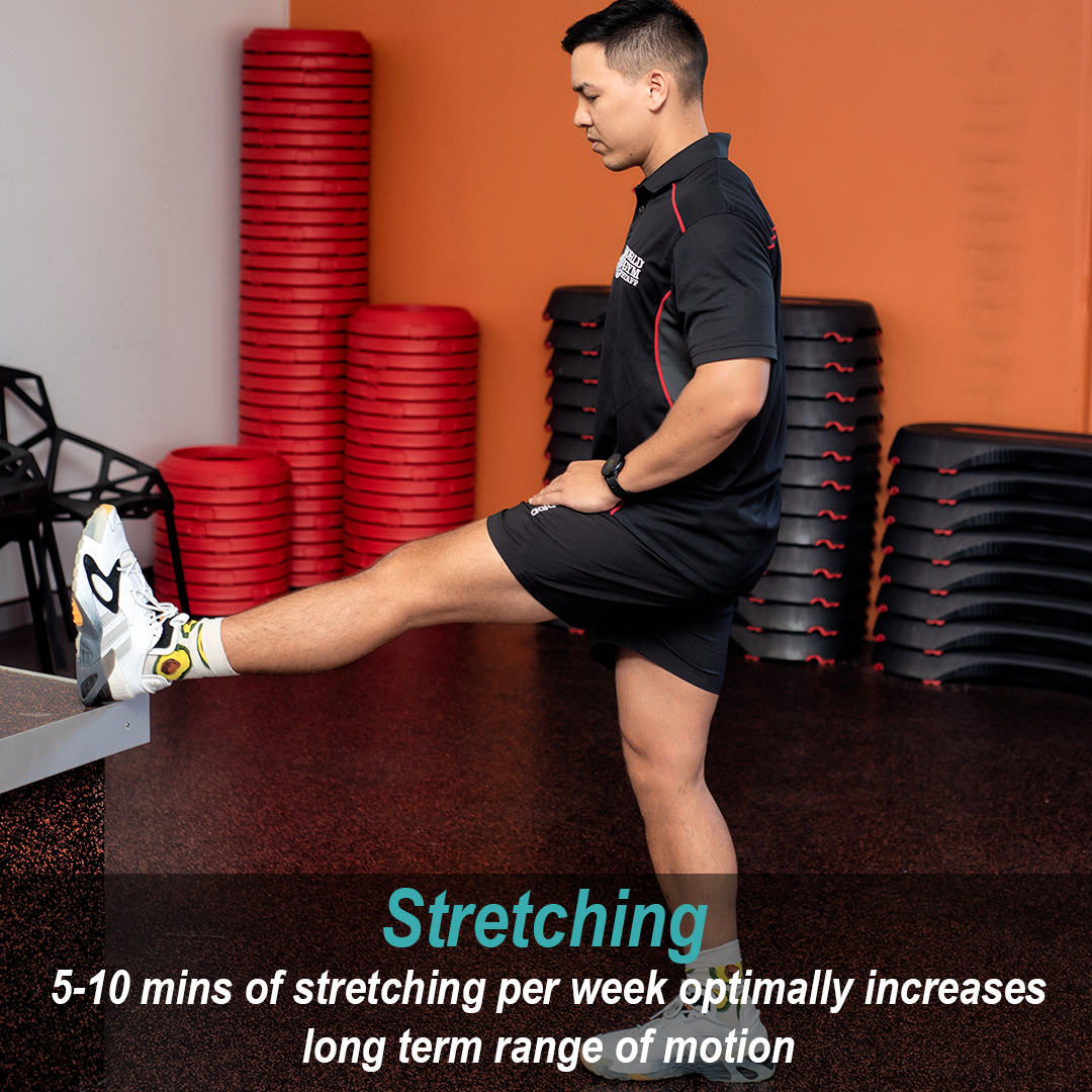 Stretching advice